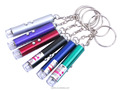 Promotional Led keychain 2K-8L Multicolor Laser Pointer Keychain