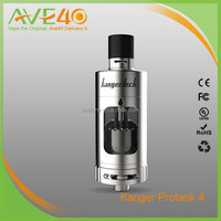 2016 Wholesale Kanger Protank 4 RBA Tank with Ceramic Coil , Dual coil RBA , top side filling protank 4 tank