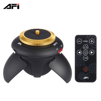 AFI MRP01 Electric Panorama Head 360 Degree Rotation TiLapse Tripod Head for Selfie Stick Smartphones for Action Camera D3784