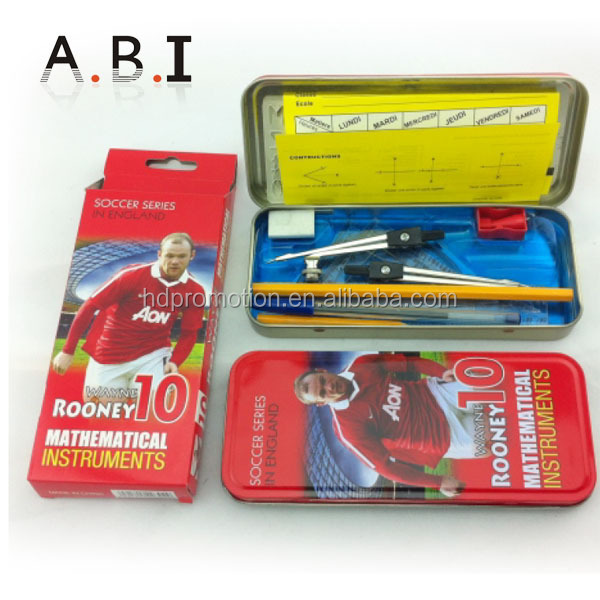 metal tin pencil case for teenagers
