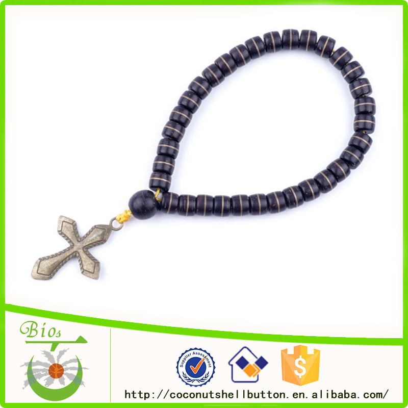 33-bead coconut shell Christianity Orthodox prayer rope