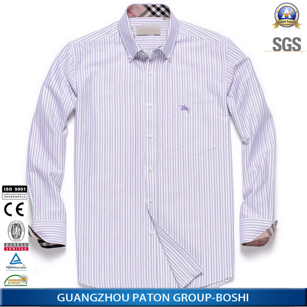 Custom Made Mens Dress Shirts With Tie OEM Apparel Supplier Guangzhou China