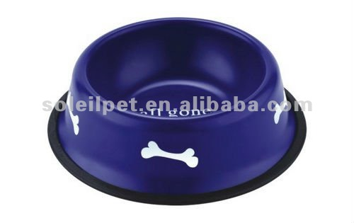 Stainless steel pet feeder / dog bowl