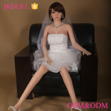 Wedding White Dress Real Skin Small Sex Doll Malaysia