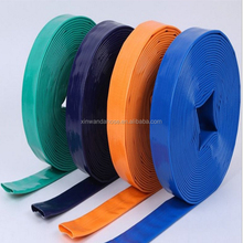 "3/4"" 1"" 1-1/2"" 5"" 6"" 8"" inch large diameter plastic pvc layflat hose pipe on sale used for farm irrigation"