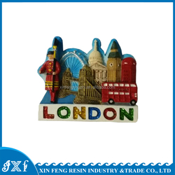 London Cities Polyresin Magnet Fridge Magnet For Souvenirs