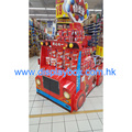 Acrylic Wood Paper Toy Car Display/Kiosk
