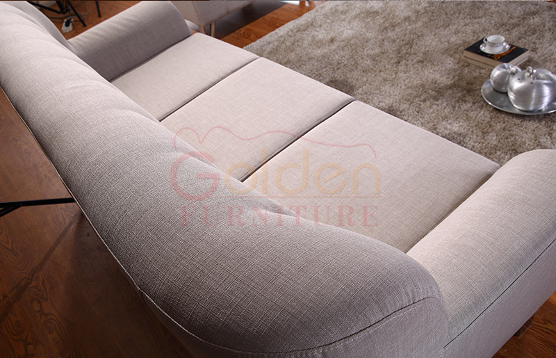 Foshan Golden Furniture 9 yr Gold supplier modern corner sofa A815