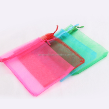 cheap factory price organza pouch bags drawstring bag for candy pack