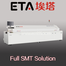 infrared reflow oven E8 , smd led wave soldering machine
