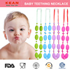 Wholesale Baby Silicone Large Bead Necklace