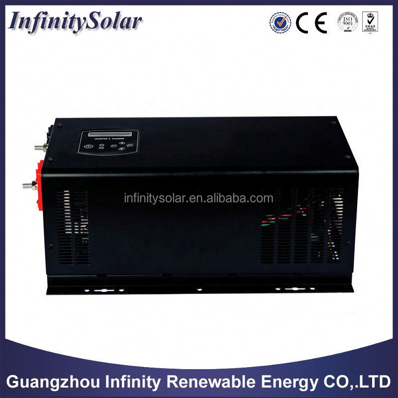 Inverter With Automatic Voltage Regulator and 10 or 20A Maximum Charging Current for Choices, 3500W, Auto-restart Function