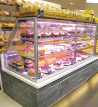 Little Duck refrigerated produce sandwich cake display cooler CE E7 Pittsburg