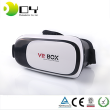 "Head Mount 3 D Helmet Cardboard VR BOX 2.0 Version VR Virtual 3D Video Glasses for 4.7 - 6.0"" Smart Phone+Bluetooth Controller"
