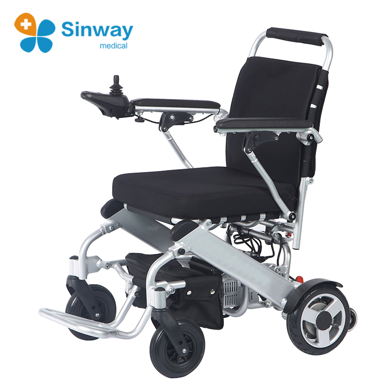Aluminum Lightweight Electric Wheelchair With Brushless Motor