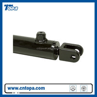 China famous single acting telescopic welded electric hydraulic cylinder