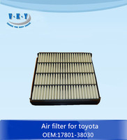 17801-38030 air filter for toyota