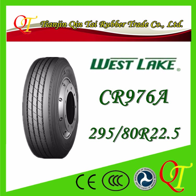 China famous brand tire manufacturing high quality West Lake tire 295 80 22.5 radial truck tires michelin