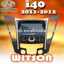 WITSON HYUNDAI i40 car dvd gps navigation system with Auto Rear View Function