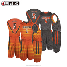 Custom reversible basketball jersey design cheap basketball jersey uniform design wholesale