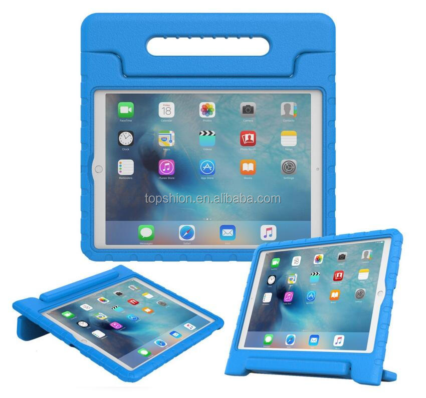 Factory directly EVA kids case for iPad pro 12.9'' shockproof tablet cover case for children