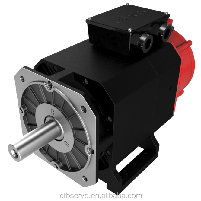CTB 75KW AC servo spindle motor for CNC