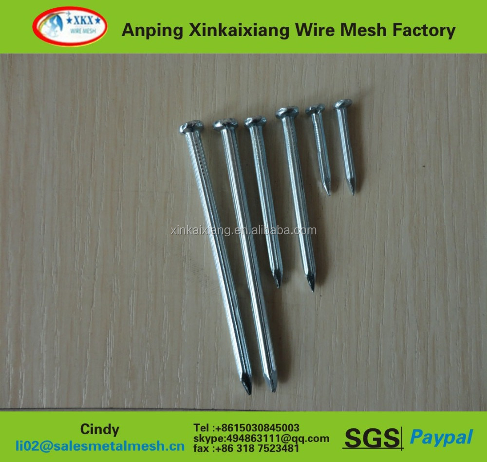 manicure tool/nail care equipment galvanized steel corrugated umbrella head roofing/umbrella head roofing nails