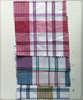 "Combed 100% Cotton Yarn Dyed woven checked design 40x40 120x70 57/58"" 120gsm fabric"