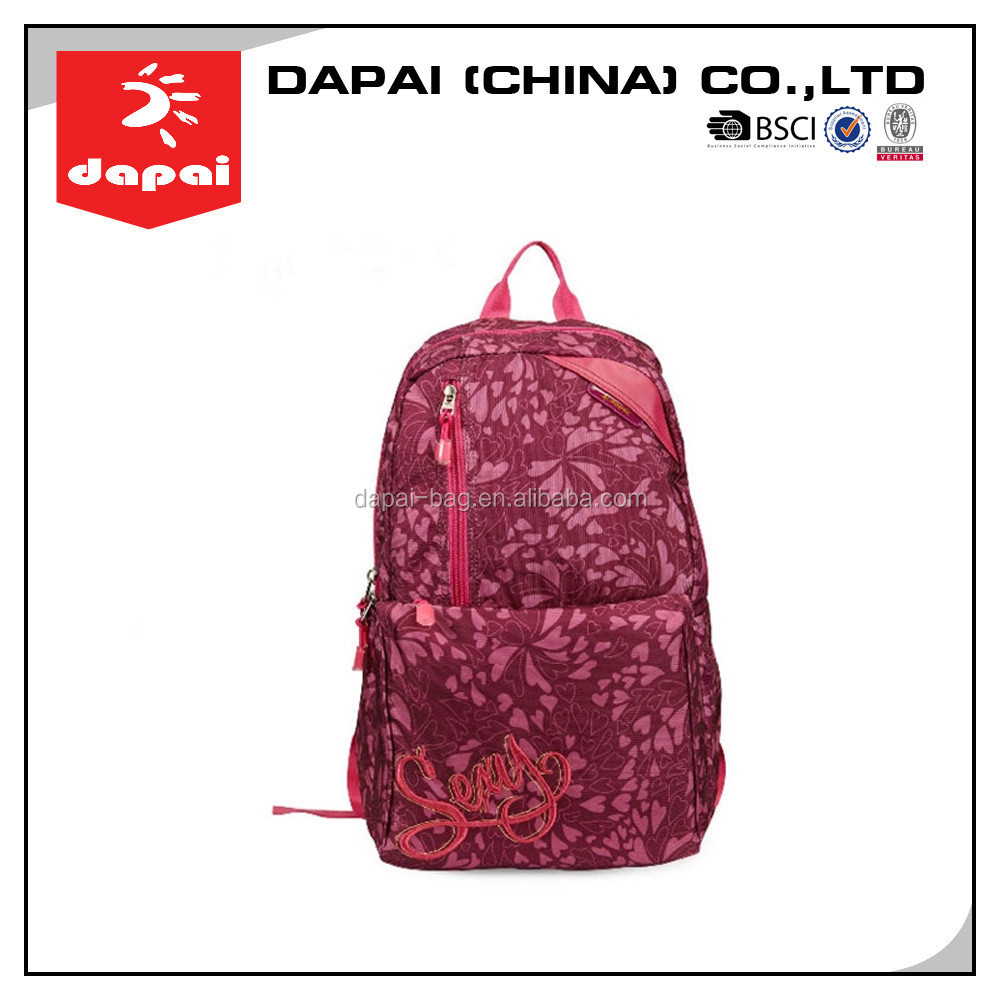 Dapai BSCI Sport Backpack Bag College Student School Bag Backpack