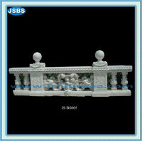 Design Exterior Decor White Marble Balusters Handrail