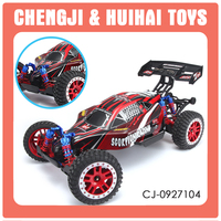 4WD remote control vehicle scorpion racing 1/8 rc car