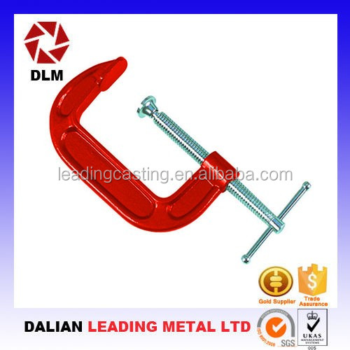 OEM customized various size screw bolt C clamps with very competitive price Woodworking Clamps