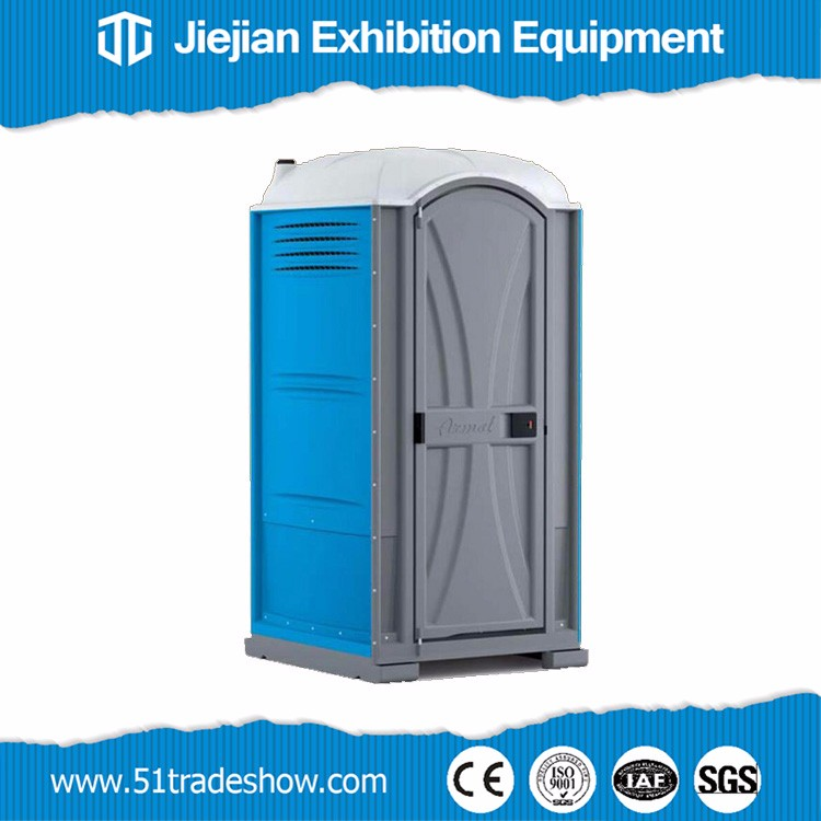 Portable toilet cabin plastic container for sale