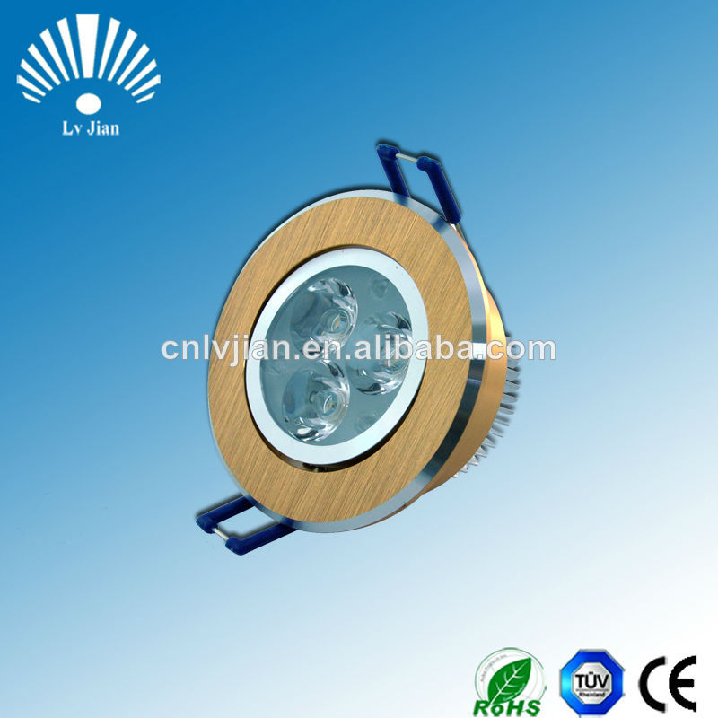 CE ROHS Listed High CRI High Brightness high power led ceiling bulb