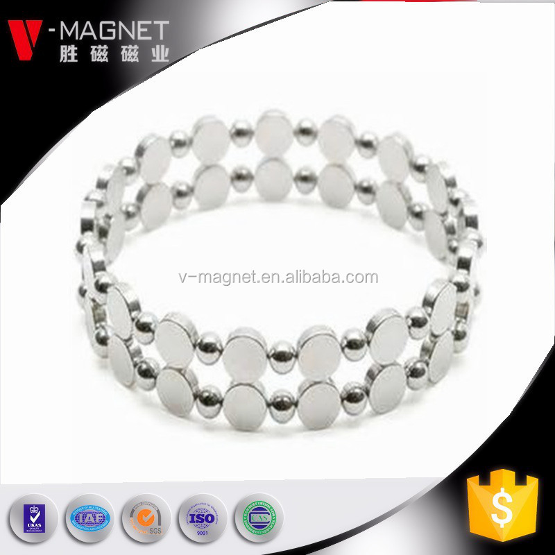 Permanent Type and Industrial Magnet Application N38 5mm magnetic balls white rubies cube