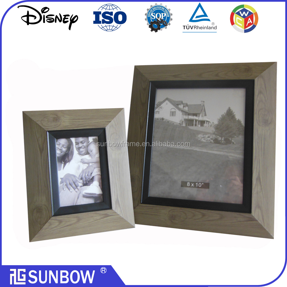 Vintage black plastic frames photo