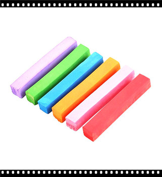 6pcs set bright color chalk for hair care