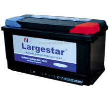 Largestar/TNT/Booster/Trane brand car battery truck battery