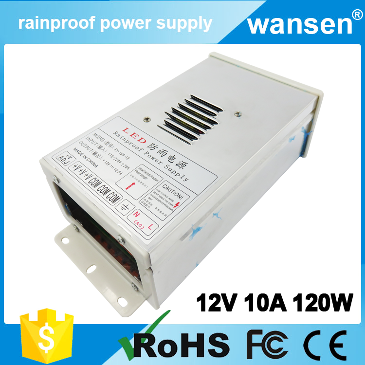 wholesale alibaba China waterproof 120W led power supply 12V 10A