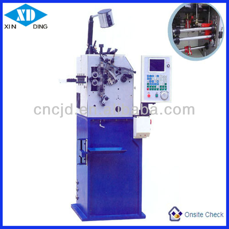 Versatile High Speed Automatic CNC Torsion Spring Coiling Machine