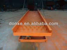 Vibrating Gold Sluice with placer gold extraction equipment