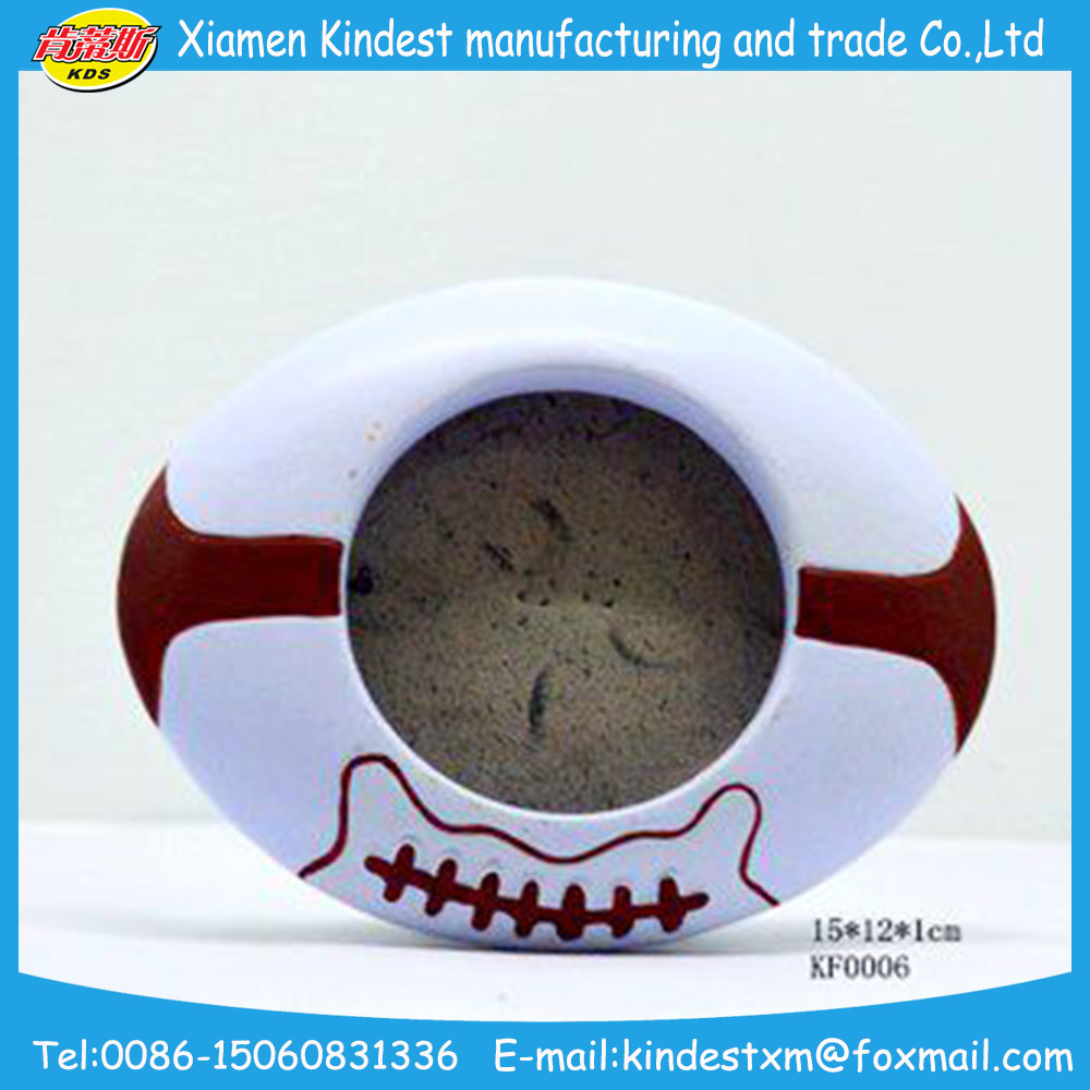 promotional Ceramic round-shaped Picture Photo Frames for gifts