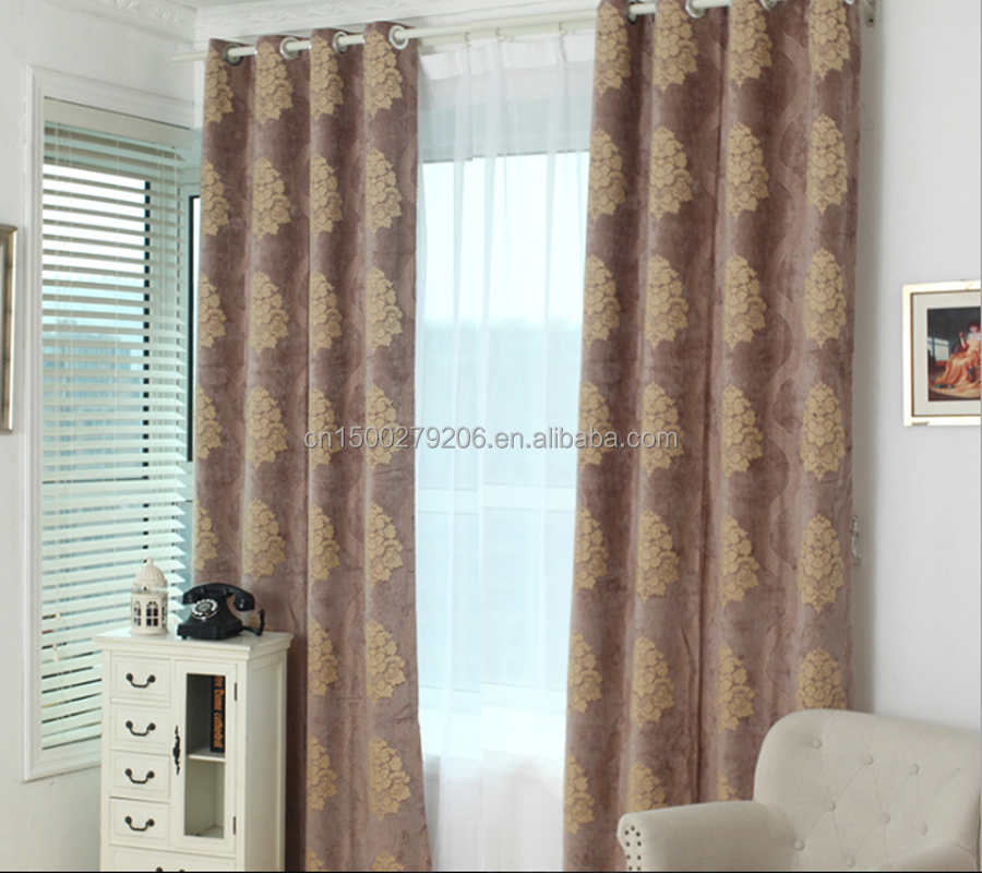 OEM size fashion design curtain and drape/ fancy curtain valances