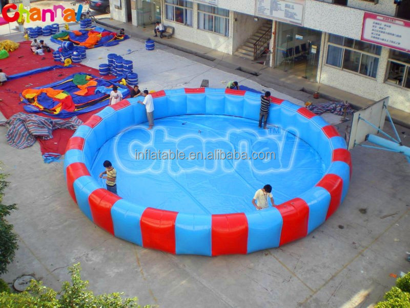 large inflatable adult swimming pool
