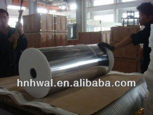 Food packing Aluminium foil in jumb rolls