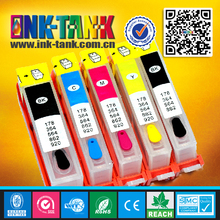 Compatible for hp empty ink cartridges,364/564/178/862/920 refillable cartridge
