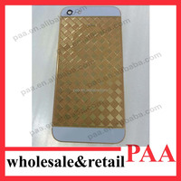 Replacement Metal Middle Frame + Back Cover Housing For iPhone 5 5G 5th G Gen Gold Plated