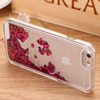 Wholesael hot high quality 3D Liquid mobile cell Phone case for iphone 4s case