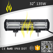 32 inch 135W triple row bar led light for off road 4x4 4WD