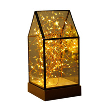 Manufacture lantern battery operated micro led christmas habitat fairy lights for outdoors